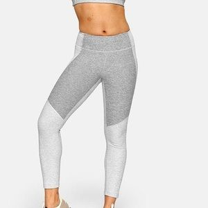 Outdoor Voices two tone grey leggings
